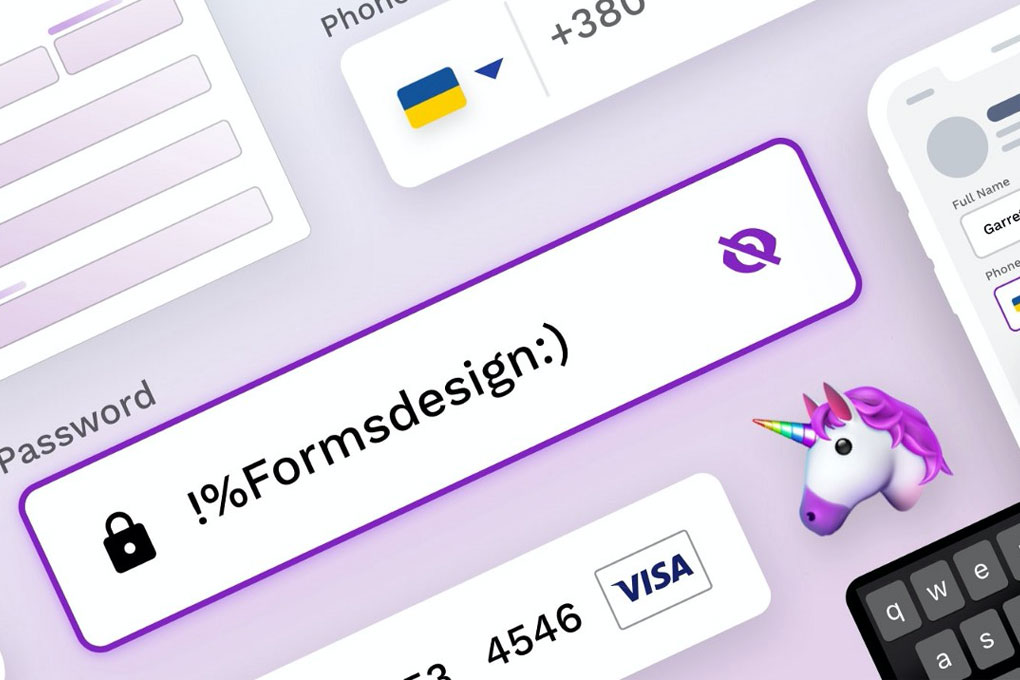 Text fields & Forms design — UI components series
