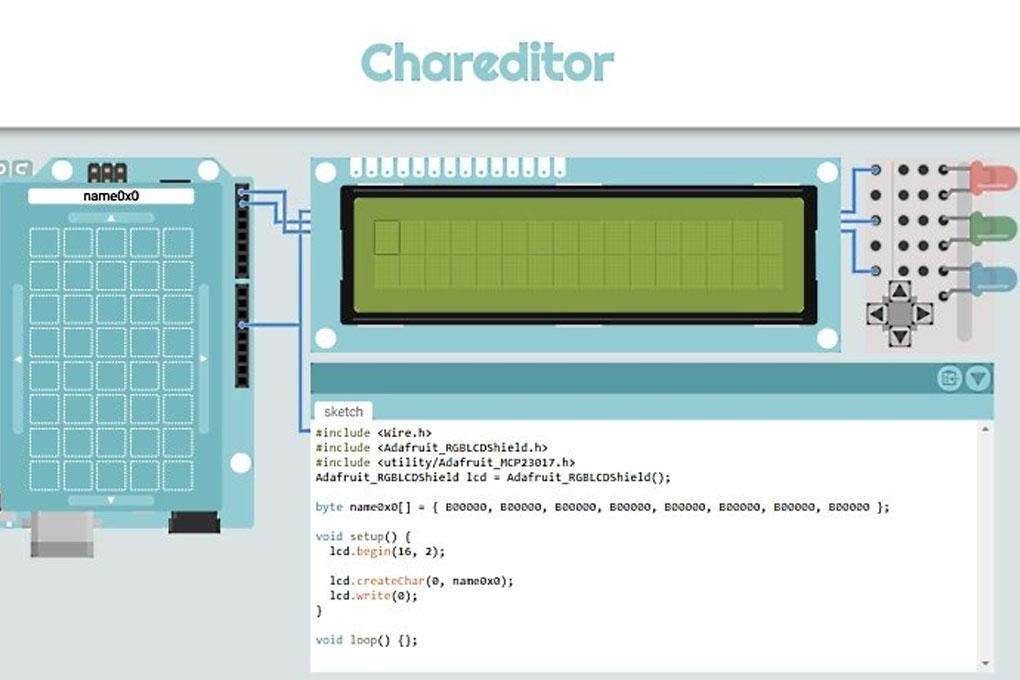Chareditor