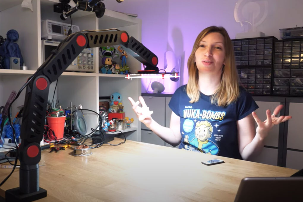 Fabriquez une lampe articulée imprimée en 3D