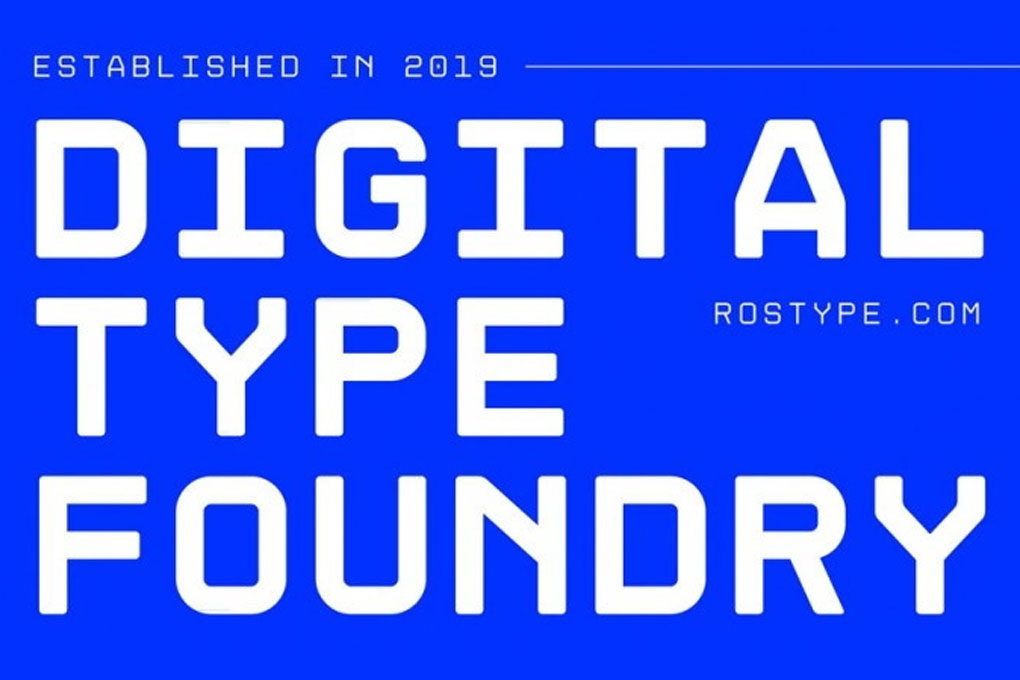 Rostype : Free fonts with personality