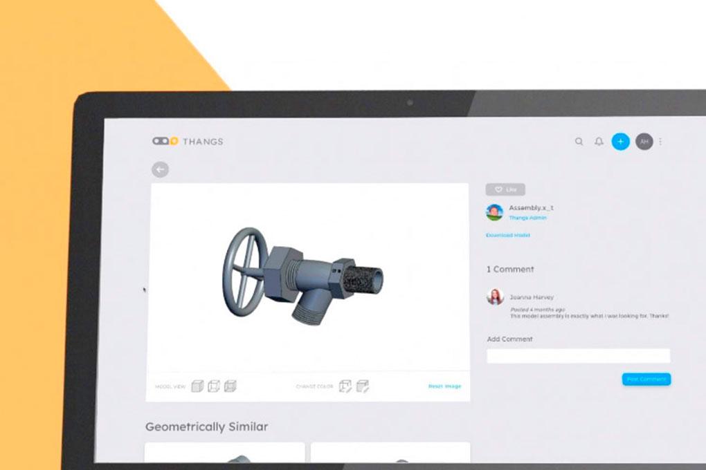 Thangs, le moteur de recherche pour vos modèles 3D