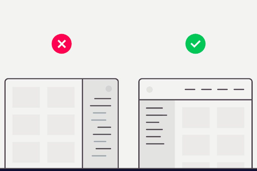 UX Design for Navigation Menus