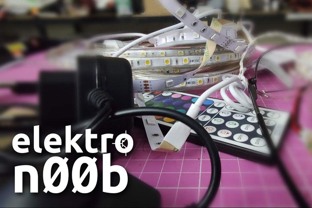 elektroN00b : Les bandeaux de led