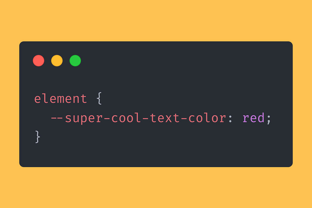 Your super-simple intro to CSS Variables